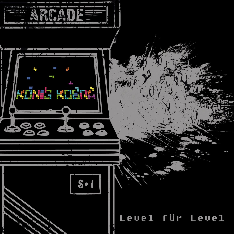 König Kobra Level für Level VÖ am 17.05.2019 durch Boersma Records